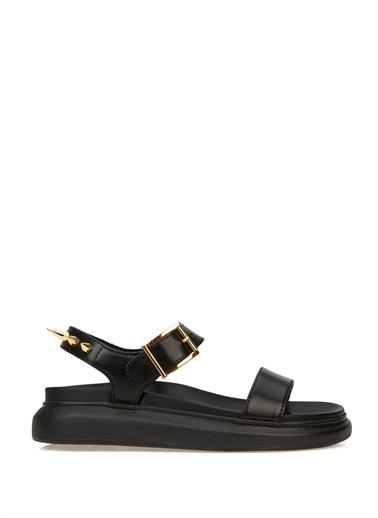 Alexander McQueen Spor Sandalet Siyah